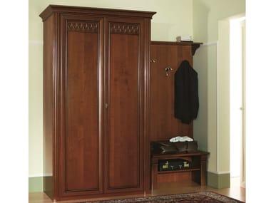Cherry wood Clothes rack / wardrobe VENEZIA | Wardrobe for hotel rooms