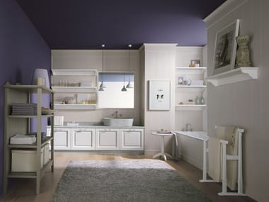 Spruce bathroom furniture set NUOVO MONDO N17