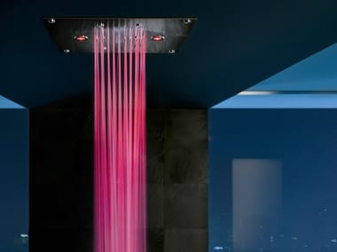 Rain shower with aromatherapy with chromotherapy FREE SHOWER | Overhead shower with chromotherapy