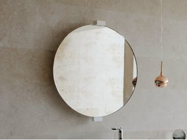 Round wall-mounted mirror EXPO | Mirror