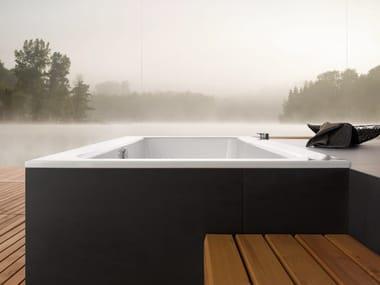 vorbau badewanne betteone relax highline by bette design tesseraux partner. Black Bedroom Furniture Sets. Home Design Ideas