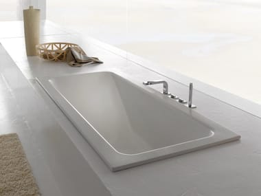 Rectangular built-in bathtub BETTEONE RELAX
