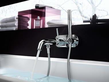Single handle bathtub mixer with hand shower LIKID | Bathtub mixer