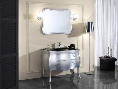 Mobile lavabo in legno con cassetti VANITY 4
