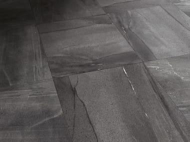 Pavimento effetto pietra BASALTINA ANTRACITE