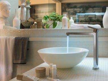 Single handle washbasin mixer with automatic pop-up waste UP | Washbasin mixer