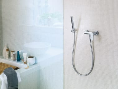 Single handle shower mixer with hand shower UP | Shower mixer with hand shower