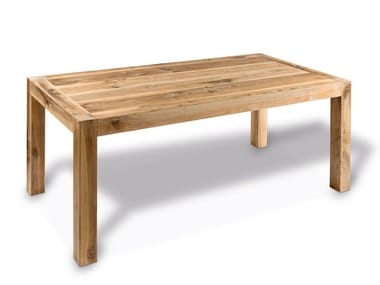 Rectangular wooden table CP LAB DESIGN | Wooden table