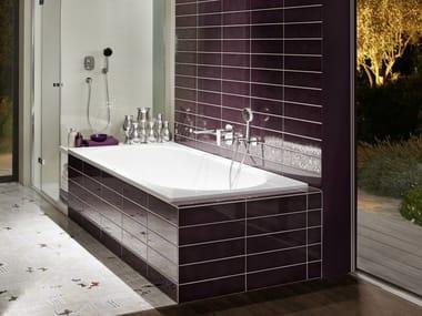Built-in enamelled steel bathtub BETTESTARLET