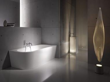 Vasca da bagno asimmetrica in acciaio smaltato BETTESTARLET V SILHOUETTE