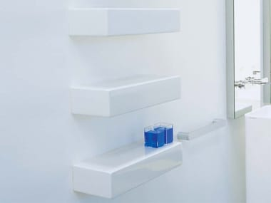 Design ceramic wall shelf BRICK | Ceramic wall shelf