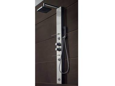 Colonna doccia multifunzione con idromassaggio BRIDGE | Colonna doccia