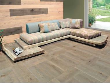 Corner sofa EL CAREGOON DE QUERCIA | English oak sofa