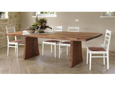 Rectangular Pear Wood Dining Table SBERLA DE PERO | Kitchen Table