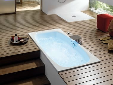 Whirlpool enamelled steel bathtub BETTEAIRJET