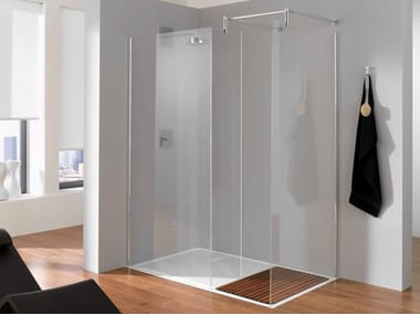 Rectangular crystal shower cabin BETTENTRY | Shower cabin