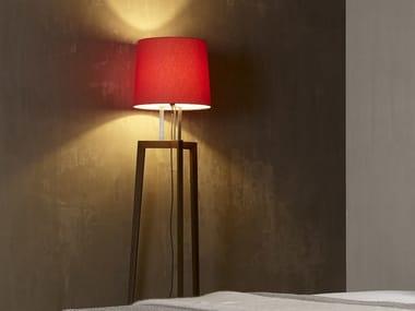 Wooden floor lamp GRACE | Floor lamp