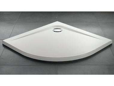 Corner acrylic shower tray ZEROQUATTRO® | Corner shower tray