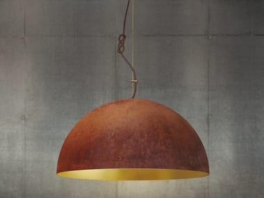 The queen extra large by mammalampa design ieva kalja handmade gold leaf pendant lamp the queen large aloadofball