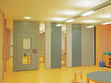 Acoustic sliding operable wall PROFIL 100 & Sliding Movable walls | Archiproducts