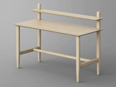 Solid wood secretary AETAS | Writing desk