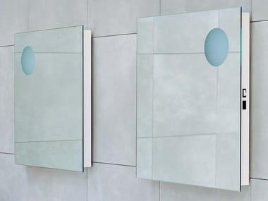 Specchio quadrato da parete per bagno SIMPLE 70/90 | Specchio quadrato