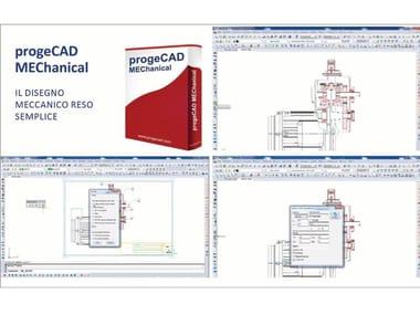 2D & 3D CAD technical design progeCAD Mechanical