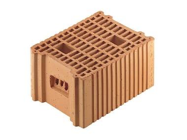 Blocco portante in laterizio per murature armate Porotherm BIO 25-33/19
