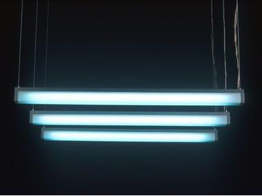 Lampada a sospensione fluorescente LUMI