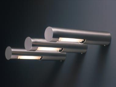 Lampada da parete a luce diretta in metallo cromato OZEN | Lampada da parete