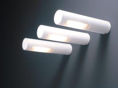 Lampada da parete a luce diretta in vetro satinato OZEN | Lampada da parete in vetro satinato