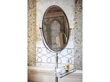 Classic style freestanding oval bathroom mirror JOEL | freestanding mirror