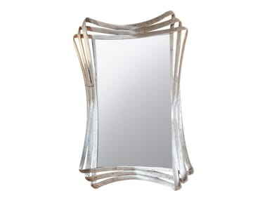 Wall-mounted framed mirror ALINE
