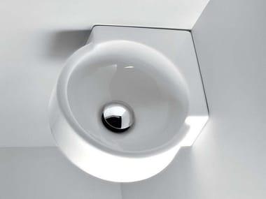 Lavamani angolare sospeso MINI TWIN | Lavamani angolare