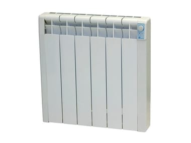 Wall-mounted radiator with thermoconvector fluid EMIBLUE A/DP