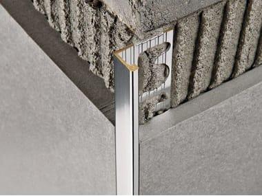 Bordo antibatterico in metallo per rivestimenti PROTERMINAL | Bordo in ottone cromato
