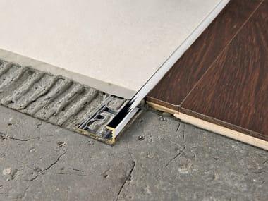 Giunto per pavimento in ottone PROELEGANT   Giunto per pavimento in ottone cromato