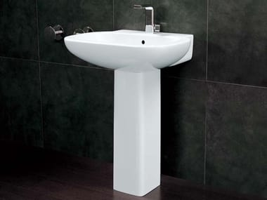 Ceramic washbasin pedestal SPRINT | Washbasin pedestal