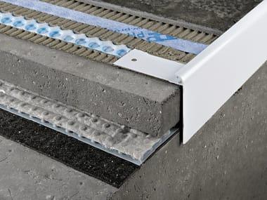 Profilo e scossalina per impermeabilizzazione in alluminio PROTERRACE PCJ