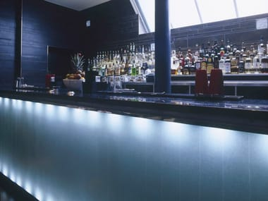 Barra de bar de Solid Surface AVONITE | Barra de bar