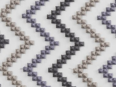 Pique fabric with graphic pattern SIRICAIA