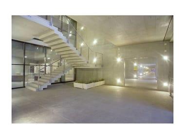 Concrete Open staircase Open staircase