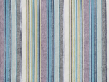 Striped upholstery fabric CANDY