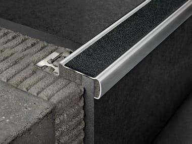 Profilo paragradino in acciaio satinato PROSTAIR GRIP ACC