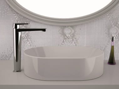 High basin mixer without pop-up waste DREAM   Washbasin mixer without waste