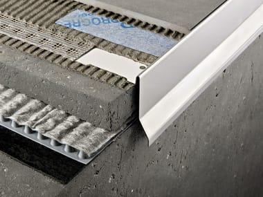 Profilo e scossalina per impermeabilizzazione in acciaio lucido PROTERRACE PCG | Profilo e scossalina per impermeabilizzazione in acciaio lucido