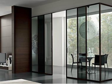Glass sliding door GDESIGNER | Sliding door