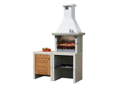 Cucina da esterno con barbecue MELODY 2