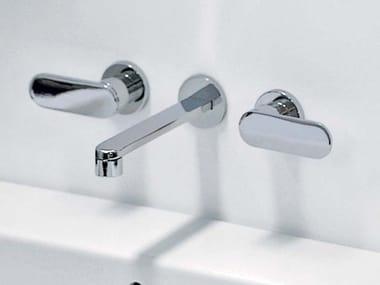 3 hole wall-mounted washbasin tap ONE | Wall-mounted washbasin tap