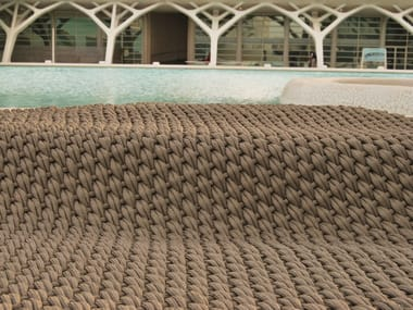 Polyester outdoor rugs DUNE